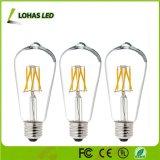 Lâmpada de iluminação regulável de 4W E14 Luz da lâmpada de filamento de LED