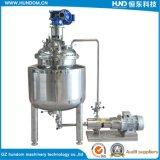 El tanque de emulsión poner crema de la calefacción eléctrica del acero inoxidable con la bomba de emulsión