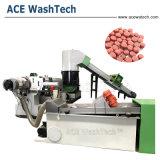 El reciclaje de plástico PP PE compuesto de un tornillo extrusor