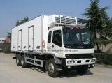 4*2 Bestelwagen van de Vrachtwagen van het Vervoer van het Vaccin van de Melk van Isuzu de Hete Verkoop Gekoelde