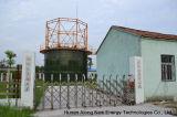 1*464m3+1*754m3 Cstr réacteur/Digesteur anaérobie Usine de biogaz