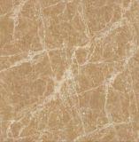 Qualitätbrown-Farben-Marmor glasig-glänzende volle Polierporzellan-Fliese für Fußboden