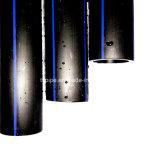 Dn 180mm 물 공급을%s SDR13.6 ISO 기준 PE 관 HDPE 관