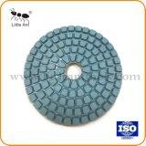 Oppoetsende Stootkussen van de Hars van de Diamant van China Fatory het In het groot Droge Natte voor Graniet en Marmer