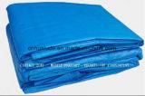 Coperta concreta arancione di tessitura sottoposta agli UV della tela incatramata del PE 8X8 con gomma piuma