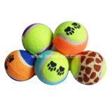 Bal van de Hond van het Tennis van het Huisdier van China de toebehoren poot-Gedrukte Goedkope