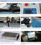 Estaca do laser e máquina de gravura com a câmara de ar do laser de vidro do CO2