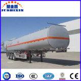 45000 리터, 50000 리터, 60000L 수용량 기름 수송 유조선 연료 탱크 반 트레일러