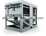 熱回復蒸化器のための落下フィルムの枕版の熱交換器