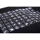 Unisexsegeltuch-Arbeitsweg-Beutel mit allgemeinen Ikonen