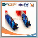 HRC45-68 carboneto de tungsténio 2/3/4 flautas Moinho Final