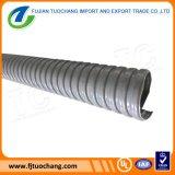 Canalização flexível com tampa cinzenta do PVC