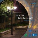 2m Höhen-im Freien Solargarten-Aluminiumlicht alles in einem