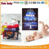 高い吸収の赤ん坊のおむつのための通気性の使い捨て可能なトレーニングの動悸
