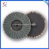 Заслонка Металлизированный абразивный диск шлифовальный пластиковую подложку