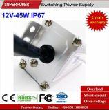 LEIDENE Voltage van het HOOFD van de Bestuurder Levering van de Constante 12V 45W de Waterdichte Macht van de Omschakeling IP67