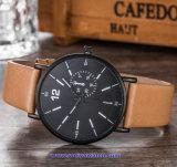 Logotipo personalizado reloj de cuarzo suizo de relojes de pulsera de moda para parejas (WY-17012E)