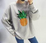OEM 고품질 우연한 스웨터 자수는 Hoodies를 잇는다