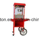 De Machine van de Popcorn van ETL & van Ce met Kar et-Pop6a-R