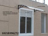 Pabellón sólido de la depresión de la PC del toldo del policarbonato durable directo de la fábrica para las puertas Windows y encima del aire acondicionado