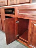 Gabinete de cozinha pintado da madeira contínua da mancha do bordo dos EUA verniz padrão