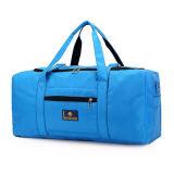 Sacchetto di Duffle casuale della borsa delle donne degli uomini di corsa di nylon dei bagagli