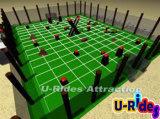 スポーツのゲームのためのPaintball膨脹可能な競技場