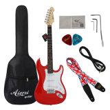 Comercio al por mayor de las marcas de estilo personalizado de estrato sólido guitarra eléctrica para la venta