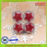 4 Piezas Estrella Candelita velas con paquete de regalo