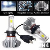 가장 싼 Fanless 12V 360 COB 9006 H13 H11 H7 H4 Auto Car Lights LED Headlight Bulb