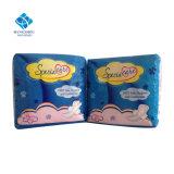 Het super Absorberende Katoenen Maxi Sanitaire Stootkussen van het Moederschap voor Vrouwelijke Hygiëne