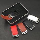 De modieuze Kleurrijke Stok van het Geheugen van het Leer USB (yt-5116)