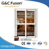 El bastidor de perfiles de aluminio puerta corrediza (FX-15093)
