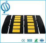 Bloque estándar de un limitador de velocidad de la rampa de goma