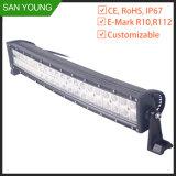 Barra clara curvada 20 polegadas do diodo emissor de luz com o antiparasitário da barra de iluminação da proteção do ECE