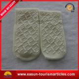 Heiße Verkaufs-Antischienen-Wegwerfhefterzufuhr-Socken für Fluglinie
