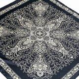Kunstseide-grosser quadratischer Schal/Polyester-Satin mit Paisley (Hz99)