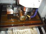 ガラスレーザーの彫版CNCの彫版機械レーザーのエッチング木