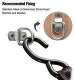 Свяжите вниз выкованный анкер трейлера анкера нагрузки кольца хлещущ кольцо