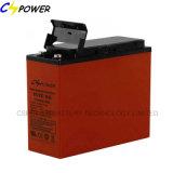 China12V 55AH SLA Terminal Dianteiro Bateria de gel Telecom/Bateria UPS