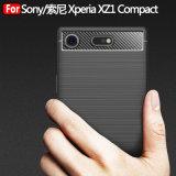 소니 Xperia Xz1 조밀한 Xperia Z6를 위한 탄소 섬유 상자