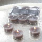 Handgemachte Tealight Kerze mit dem hübschen Kasten gepackt