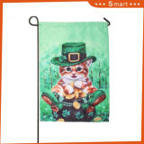 Флаг сада печатание летания изображения кота логоса дешевого котенка цены напольного симпатичного декоративный изготовленный на заказ
