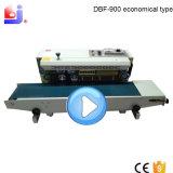 Dbf-900 tipo econômico máquina barata da selagem da folha de alumínio com correia transportadora