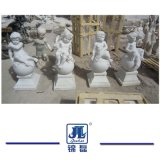 Мраморные малых Angel, мраморная скульптура из камня статуями на сад оформлены/Ландшафт
