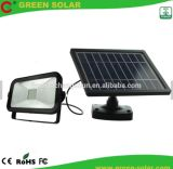 Batterie rechargeable d'urgence Projecteur de travail a conduit à l'extérieur avec panneau solaire