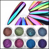Einhorn-Chamäleon-Verschiebung-Chrom-Spiegel-Effekt-Acrylnagel-Pigment