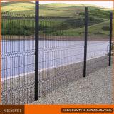 Panneau de frontière de sécurité soudé par PVC de treillis métallique de qualité