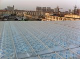Agua sólida del panel el 100% del panel U del policarbonato U impermeabilizada, el cubrir y hoja del tragaluz