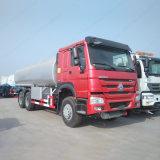 Grande capacidade 336HOWO 6X4 VEÍCULO Óleo-cisterna de combustível HP